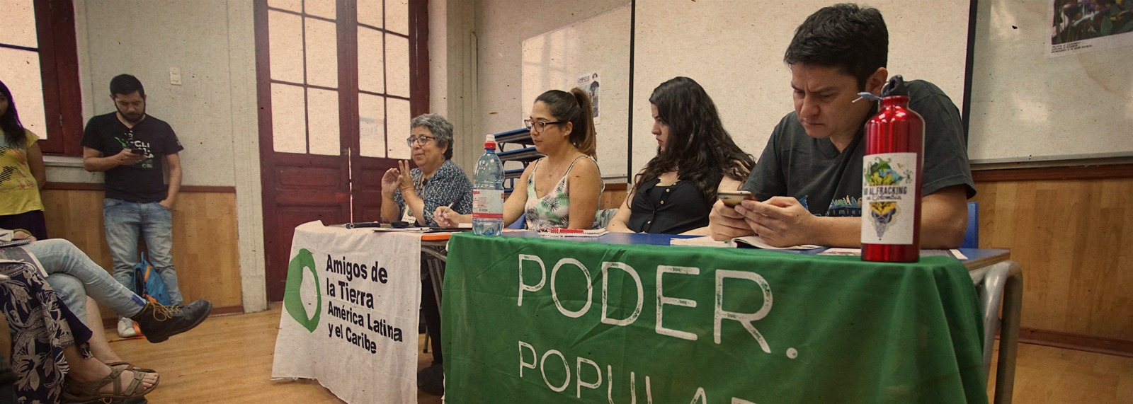 Agendas of Latin American environmental activists, workers and feminists meet at the Peoples´ Summit