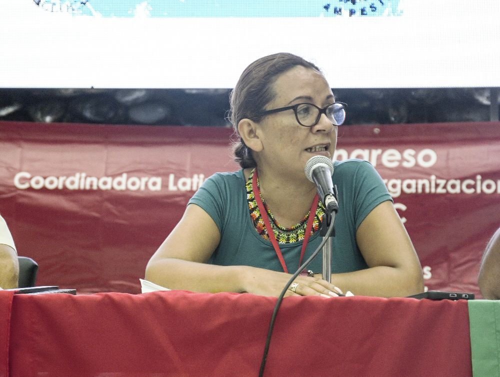 Peasant leader denounces systematic violence in Colombia at UN Human Rights Council