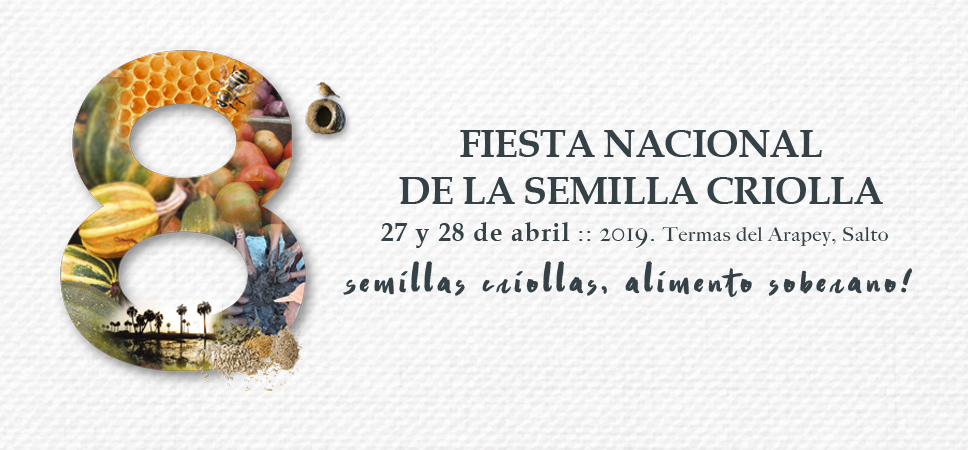 8th National Native Seed Festival in Uruguay