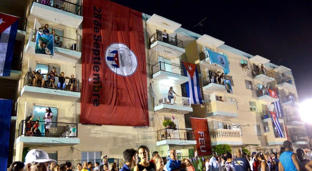 Anti-Imperialist Meeting in Havana: Inside the venue and outside on the streets