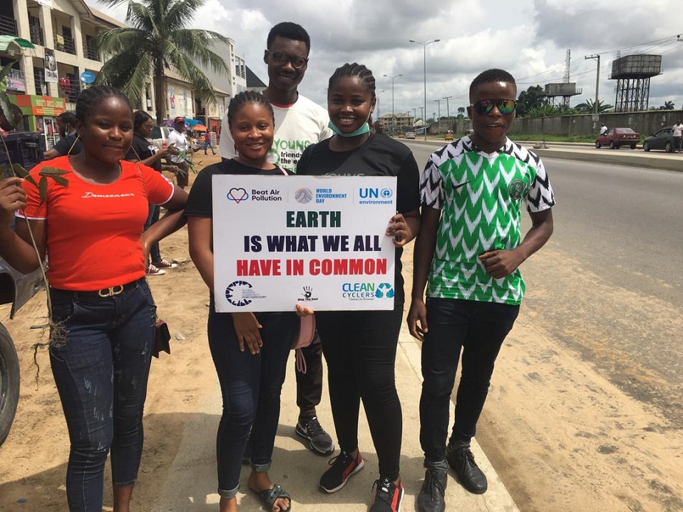 African youth for system change