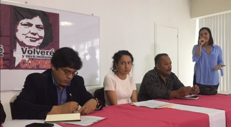 WHO IS THE HONDURAN PUBLIC PROSECUTION OFFICE PROTECTING?