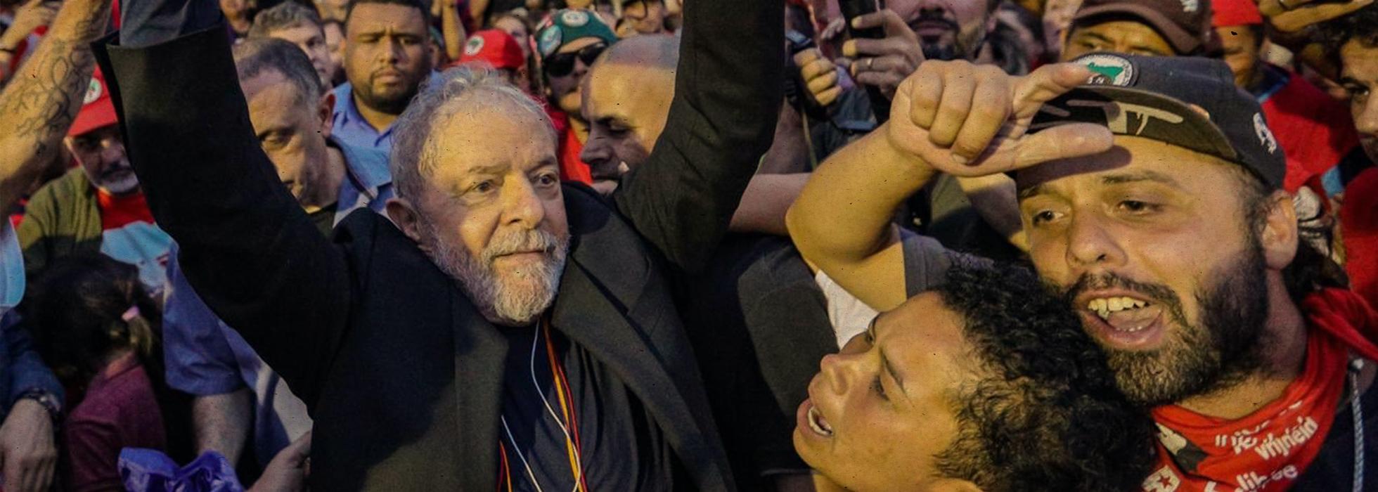 Lula da Silva freed